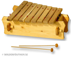 Musikinstrument: Marimba Pentatoniskt (XPL008)