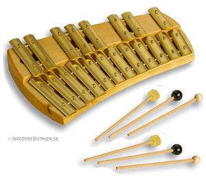 Musikinstrument: Klockspel Kromatisk (KKH)
