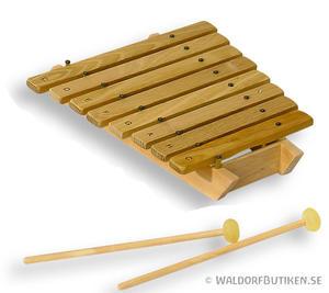Musikinstrument: Xylofon Diatonisk 8 toner (XRD008)