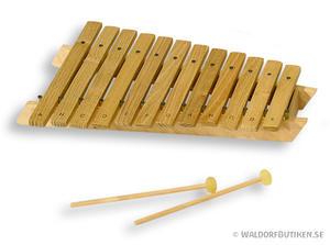 Musikinstrument: Xylofon Diatonisk 12 toner (XRD012)